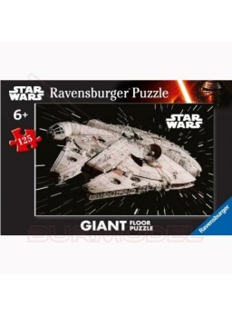 Puzzle Star Wars Halcón Milenario 125 piezas