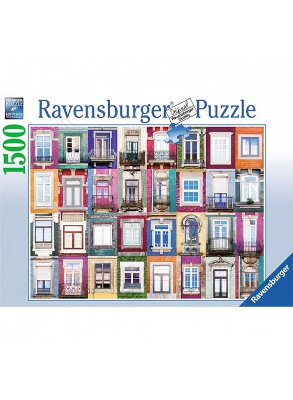 Puzzle 1500 piezas Ventanas Portuguesas