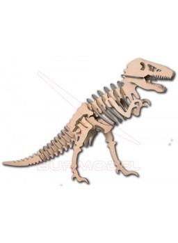 Tyranosaurus Rex en madera