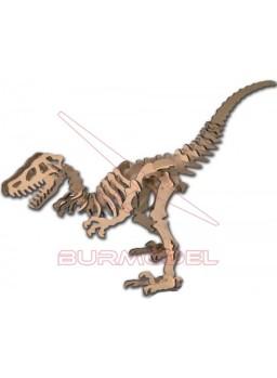 Kit en madera Velociraptor