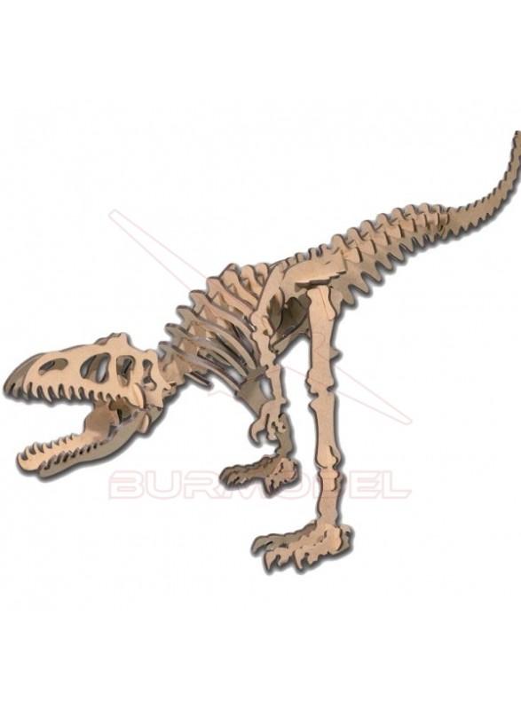 Maqueta de madera Allosaurus