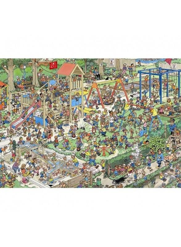 Puzzle comic El recreo 1000 piezas