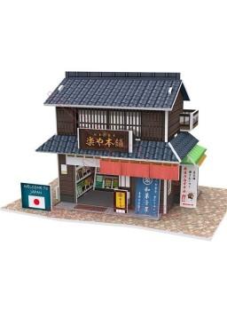 Puzzle 3D Tienda típica Japonesa 24 piezas