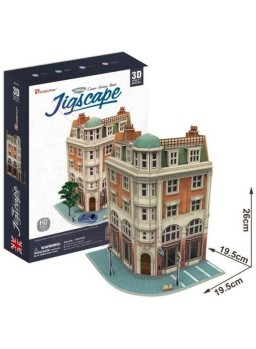 Puzzle 3D edificio HO Corner´s Saving Bank 94 pcs