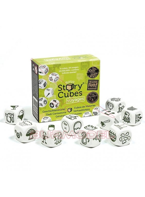Juego de dados Story Cubes Viajes