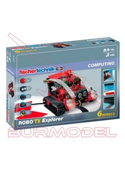 Juego Fischer Technik Robot explorer 6 en1