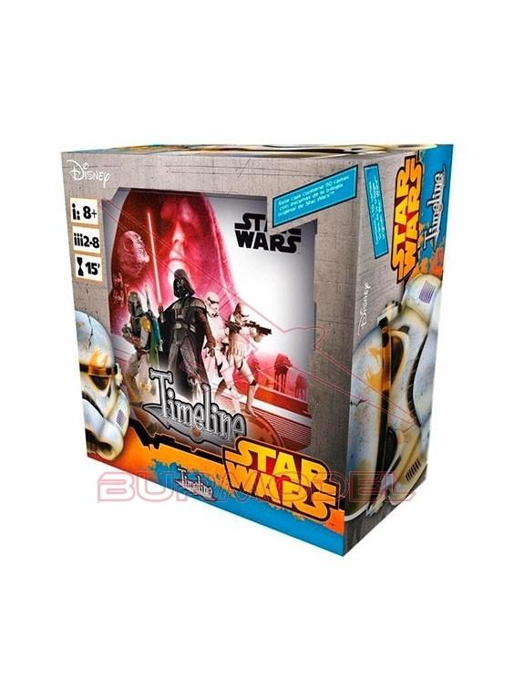 Juego de cartas Time Line Star Wars IV-V-VI