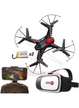 Drone Attop A8 con dos baterías y gafas VR