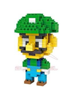 Juego de montaje Luigi Mario Bros 160 pzs