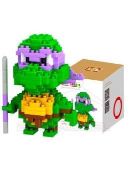 Juego montaje tortuga Ninja Donatello 200pzs