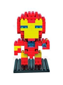 Juego mini bloques para construir Iron Man 130pcs