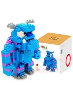 Juego construir personaje Monstruos SA Sulley 220p
