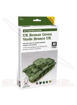 Colores Vallejo verde bronce UK
