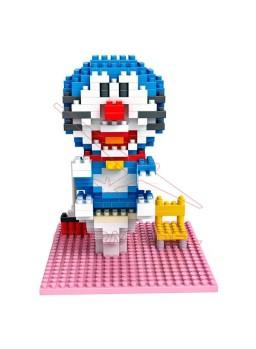 Juego montaje minibloques Doraemon 340 piezas