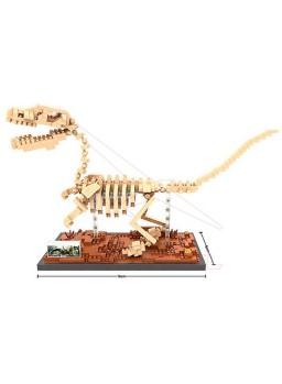 Juego de construcción Velociraptor 620 piezas