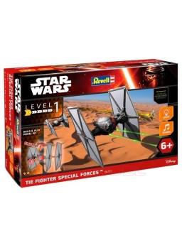 Maqueta Star Wars, Caza Tie Primera orden 1/51