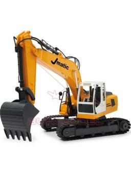Excavadora RC J-Matic Multi con sonido 1/20 2.4Ghz