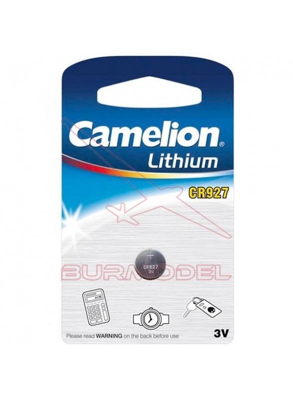 Pila de botón litio 3V CR927
