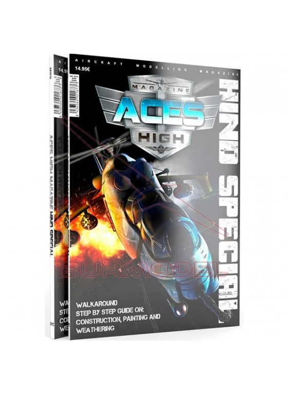 Magazine ACES HIGH Hind Special (inglés)