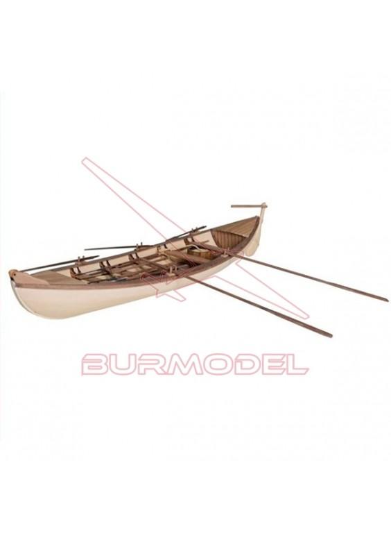 Barco de madera Ballenero escala 1/40