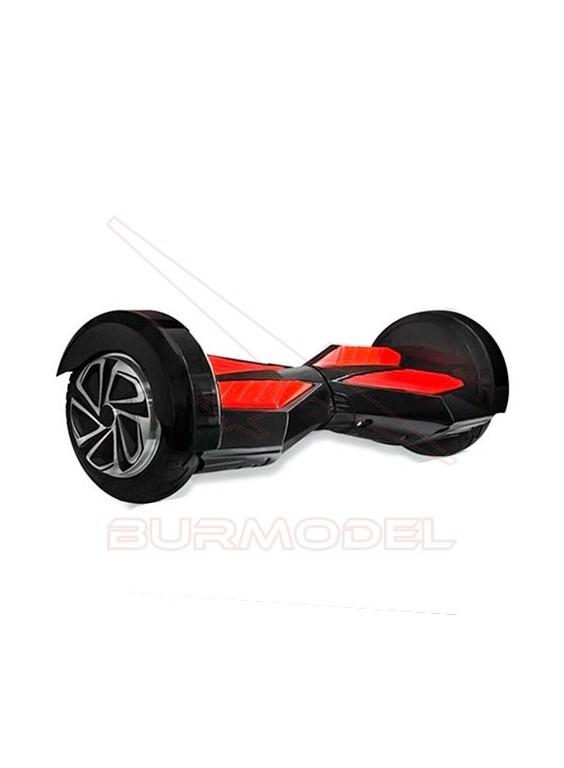 Balance Scooter azul y rojo ruedas 8'' Bluetooth