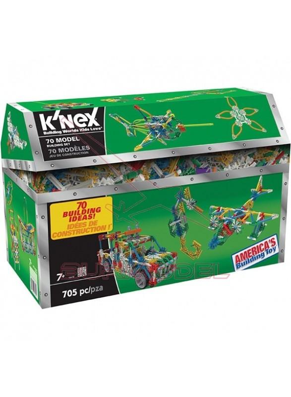 Knex Mega Baúl 70 en 1 705 piezas