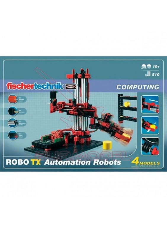 Juego Fischer Technik Robot automation