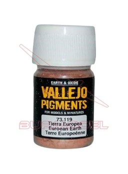 Pigmento Vallejo Tierra europea