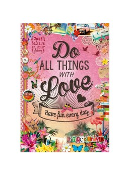 Puzzle 500 piezas Do all things with love.