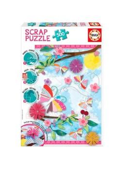 Puzzle Scrap 500 piezas Garden Art