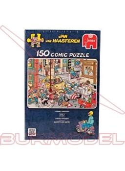 Puzzle 150 Piezas comic Atasco