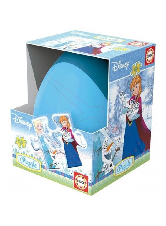 Puzzle huevo 48 piezas Frozen