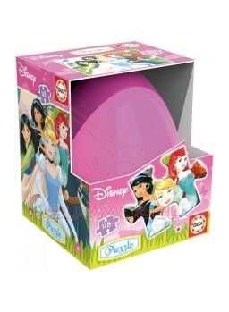 Puzzle huevo Princesas Disney