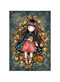 Puzzle Gorjuss Autumn leaves