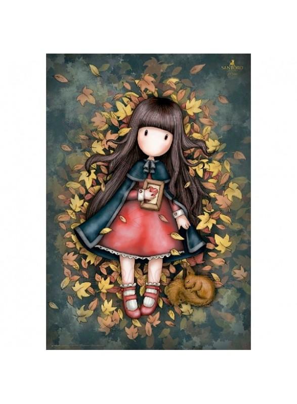 Puzzle Gorjuss Autumn leaves
