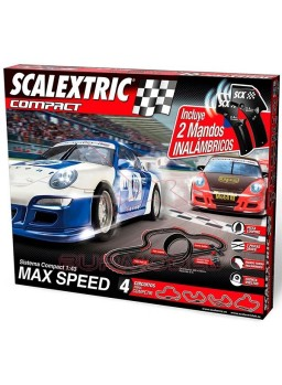 Circuito Scalextric Compact Max Speed inalámbrico