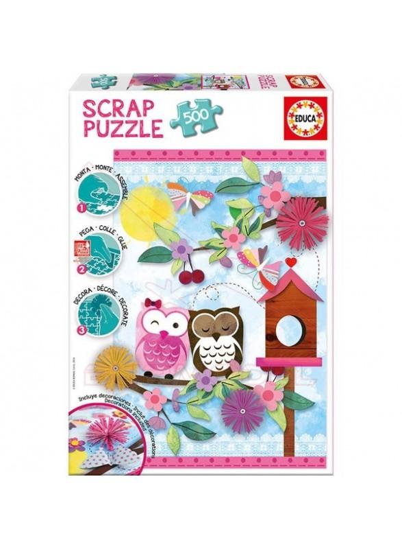 Scrap puzzle 500 piezas Valentine Art