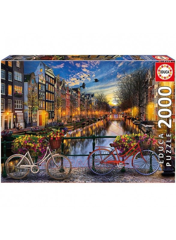 Puzzle Amsterdam 2000 piezas.