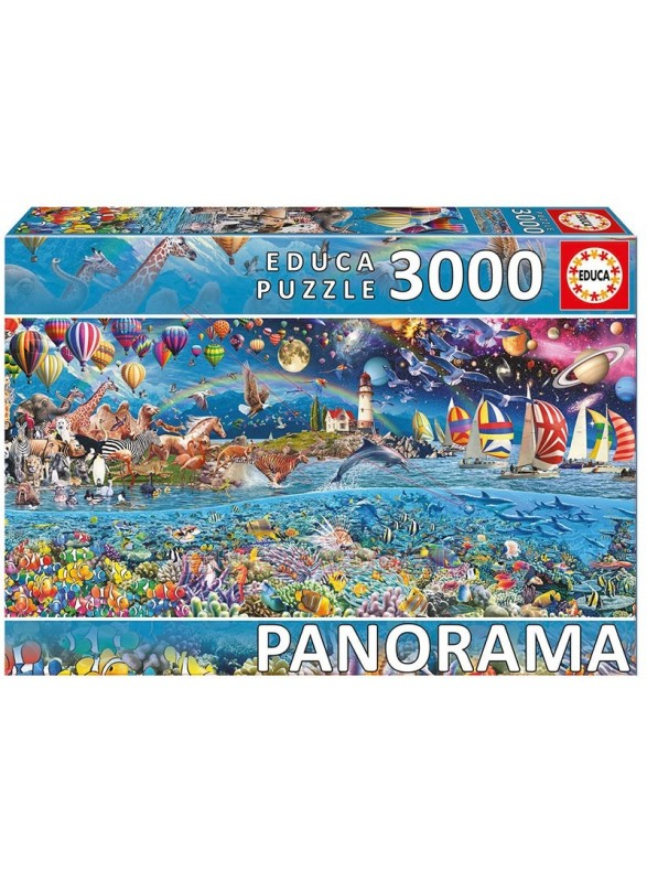 Puzzle Panorama Series Vida 3000 piezas