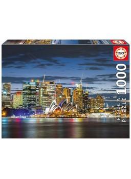 Puzzle Crepúsculo en la ciudad de Sidney