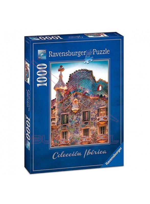 Puzzle 1000 piezas Casa Batlló de Gaudí, Barcelona