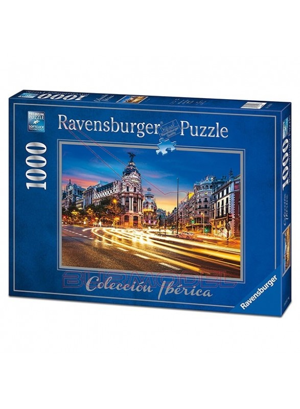 Puzzle 1000 piezas Gran Vía Madrid