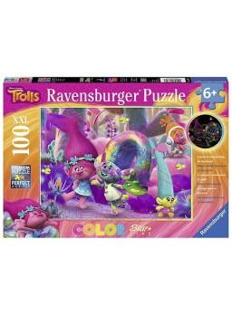 Puzzle 100 piezas XXL Trolls