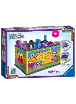 Puzzle 3D caja organizadora de belleza 216 piezas