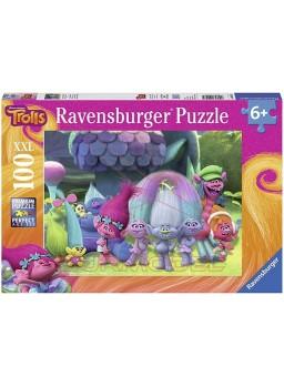 Puzzle XXL 100 piezas Trolls