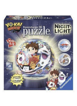 Puzzle 3D Lámpara Yo-Kai Watch