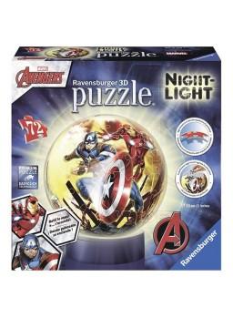 Puzzle 3D Lámpara Los Vengadores 72 piezas