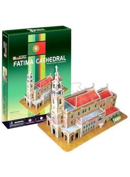 Puzzle 3D Catedral de Fátima 48 piezas