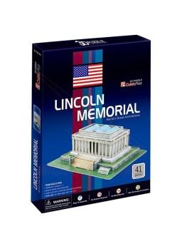 Puzzle 3 dimensiones Lincoln Memorial 41 piezas