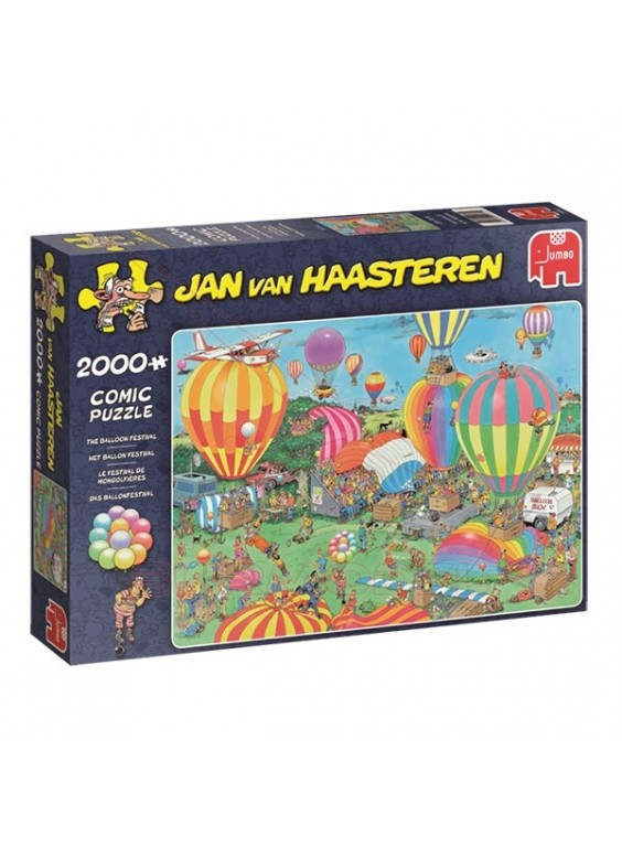 Puzzle 2000 piezas comic Festival de Globos